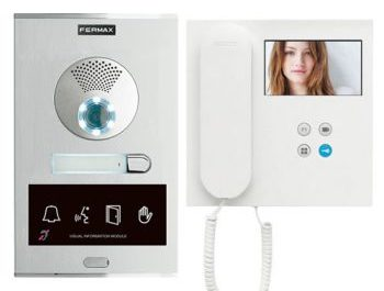 intercom met camera