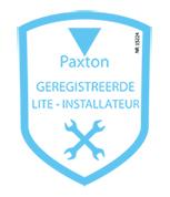 Geregistreerd Paxton Toegangscontrole en deurintercomsystemen installateur