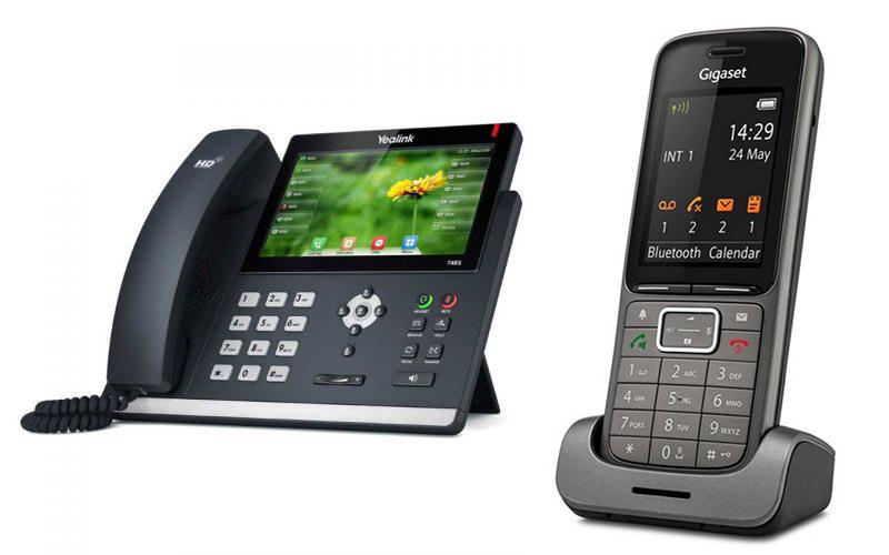 telecomsysteem van yealink